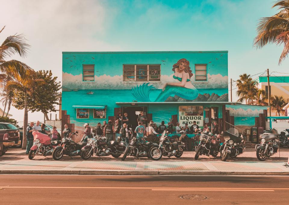 Go on a motorcycle holiday